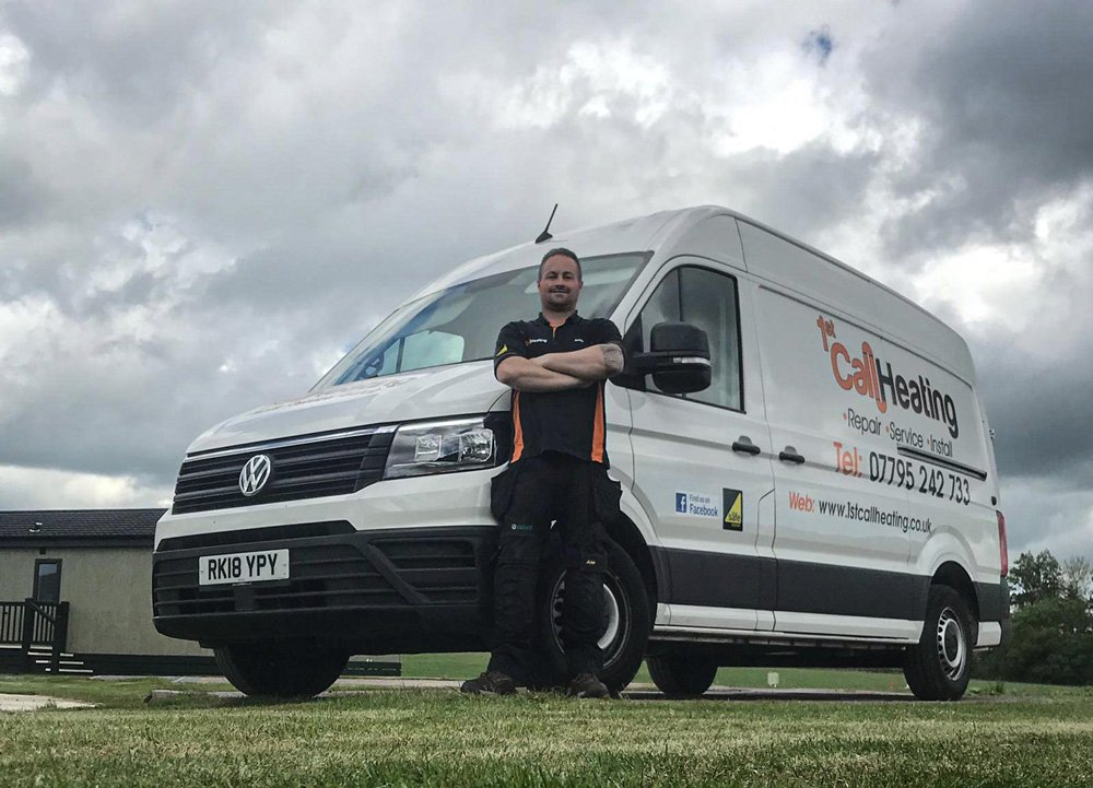 1st call heating & drainage - Andrew and van